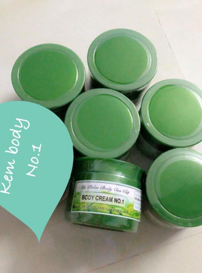 Kem dưỡng body trà xanh CREAM NO 1 siêu trắng3