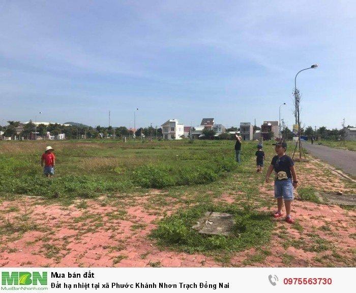 Đất hạ nhiệt tại xã Phước Khánh Nhơn Trạch Đồng Nai