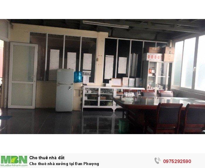Cho thuê nhà xưởng tại Đan Phượng