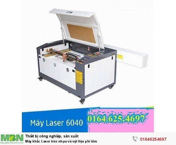 Máy khắc Laser trên nhựa và vật liệu phi kim0