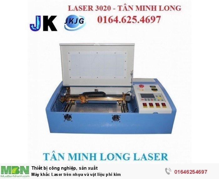 Máy khắc Laser trên nhựa và vật liệu phi kim