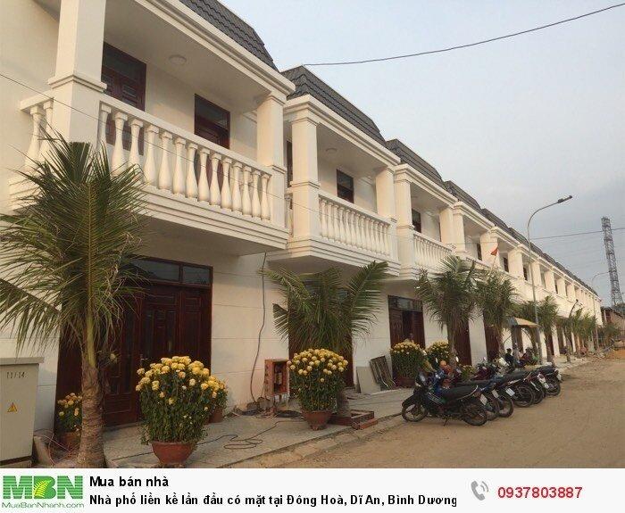 Nhà phố liền kề lần đầu có mặt tại Đông Hoà, Dĩ An, Bình Dương