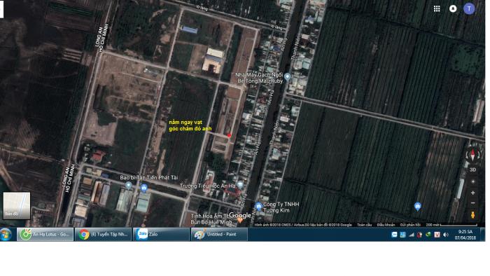 Đất ở đô thị tại huyện Bình Chánh, thổ cư 100%, XDTD,SHR