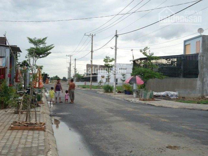 Đất mặt tiền QL50 32m đường lớn có sổ hồng riêng từng nền