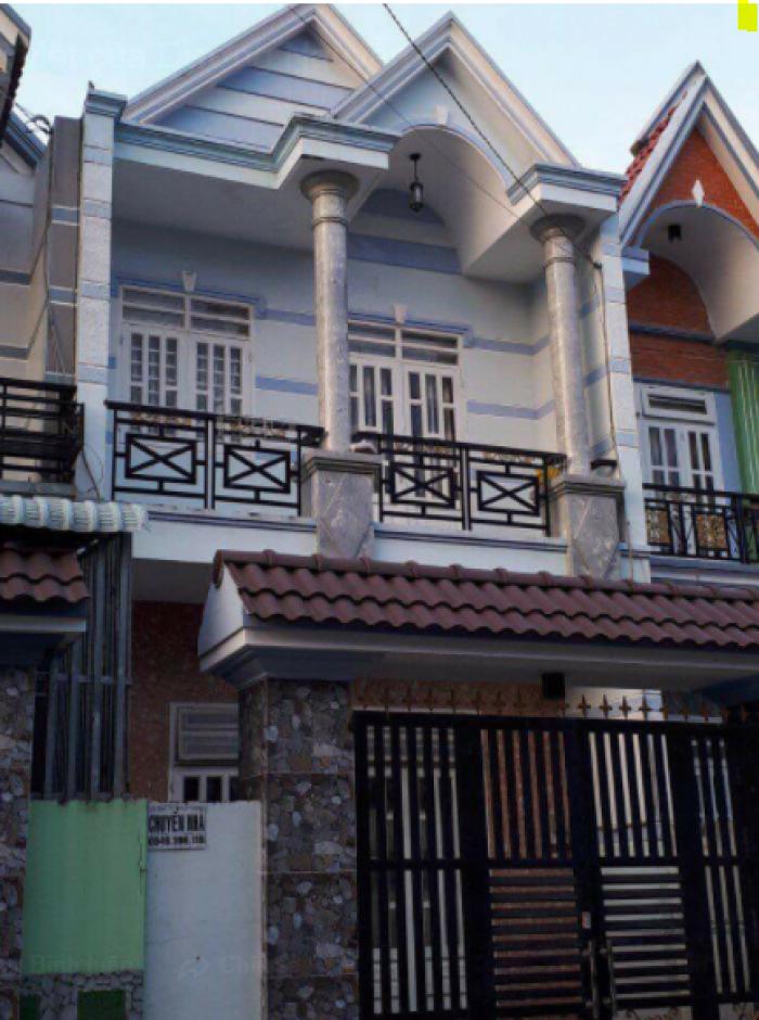 Bán Nhà Mặt Tiền nội bộ 120m2 xã Phong Phú B ình Chánh