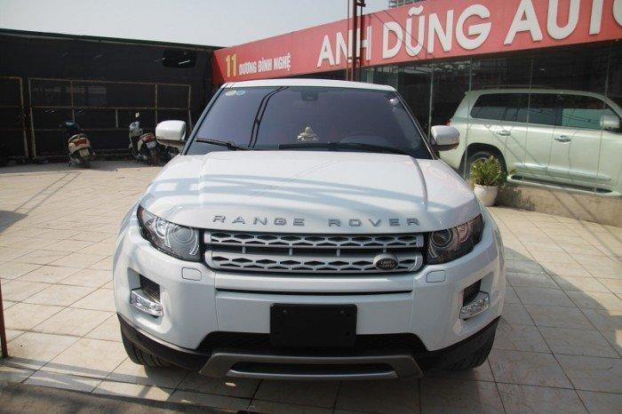 LandRover Range Rover Evoque 2.0 prestige 2013, màu trắng, nhập.