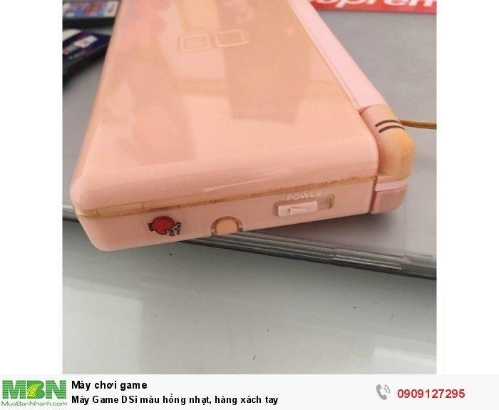 Máy Game DSi màu hồng nhạt, hàng xách tay3