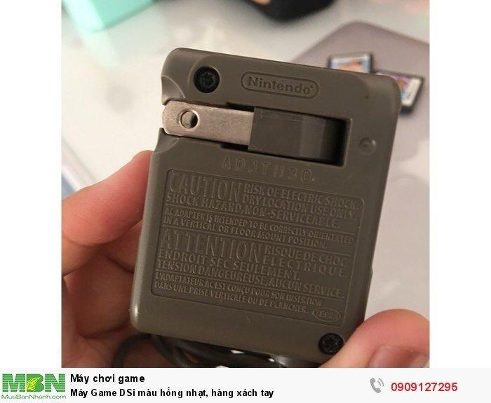 Máy Game DSi màu hồng nhạt, hàng xách tay4