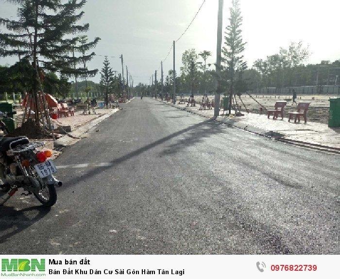 Bán Đất Khu Dân Cư Sài Gòn Hàm Tân Lagi
