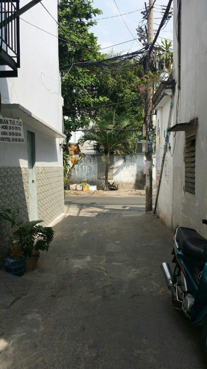 Nhà hẻm giá rẽ Tân Sơn Nhì , DT 4,1m x 4m,NH 4,85m  P.Tân Sơn Nhì