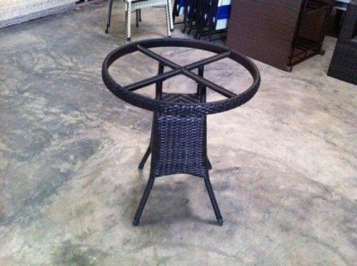 Bàn ghế nhựa  giả mây thanh lý10