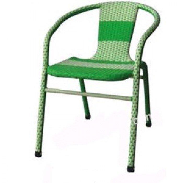 Bàn ghế nhựa  giả mây thanh lý7