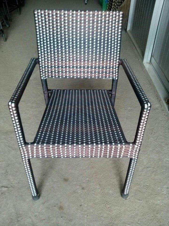 Bàn ghế nhựa  giả mây thanh lý4