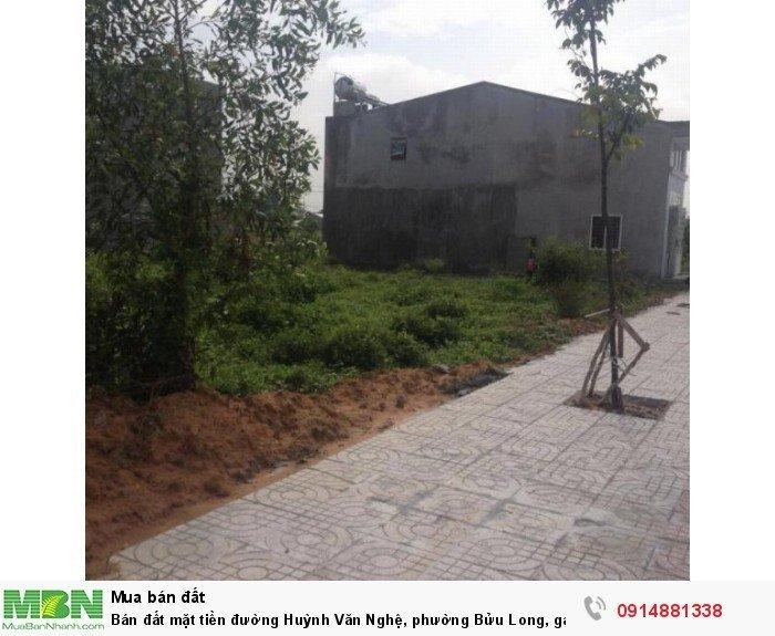 Bán đất mặt tiền đường Huỳnh Văn Nghệ, phường Bửu Long,  gần trạm thu phí 768