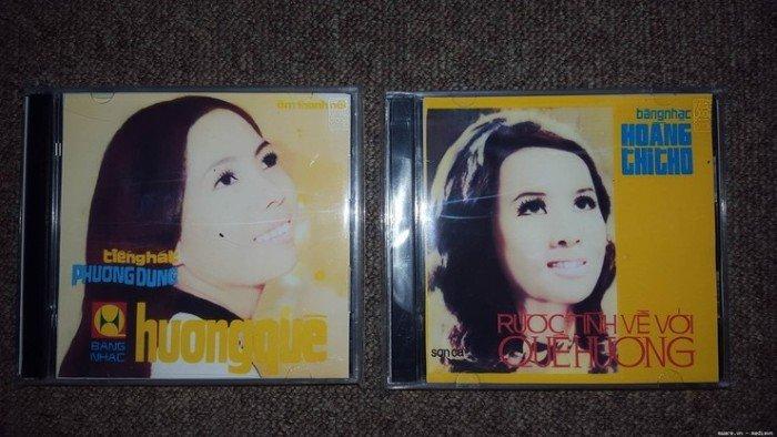 Đĩa CD Nhạc Vàng