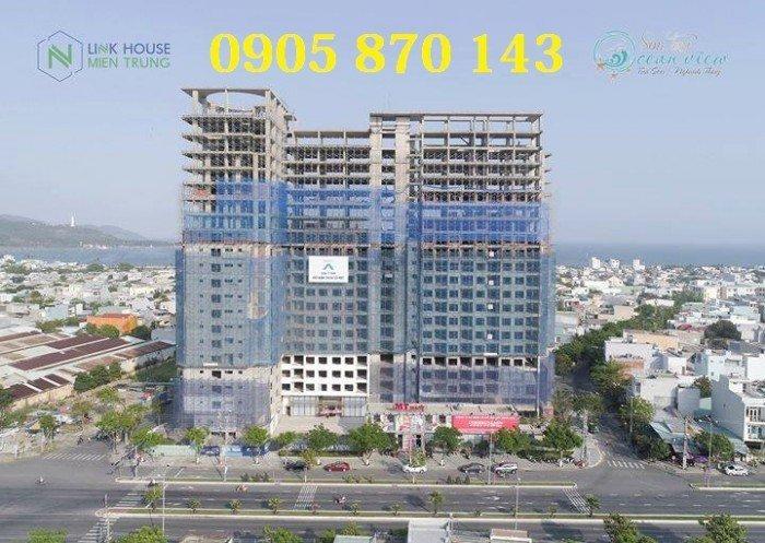 Bán căn hộ ocean view đà nẵng Ck 5% + 2 năm phí quản lý