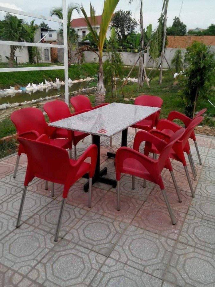 bàn ghế cafe nhựa đúc giá rẻ nhất14