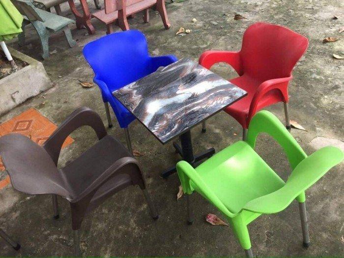 bàn ghế cafe nhựa đúc giá rẻ nhất6