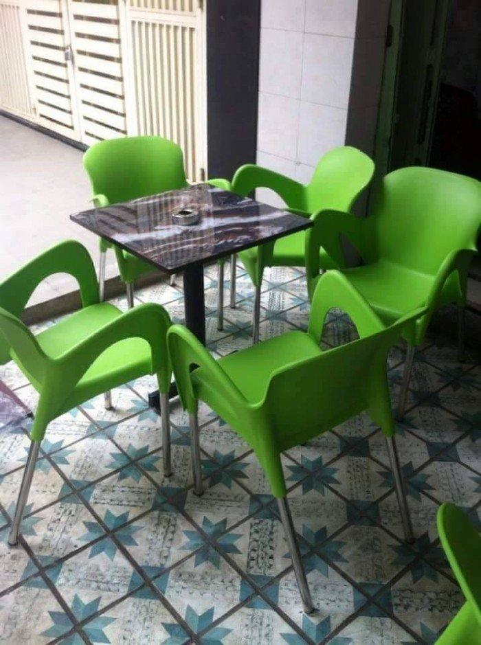 bàn ghế cafe nhựa đúc giá rẻ nhất1