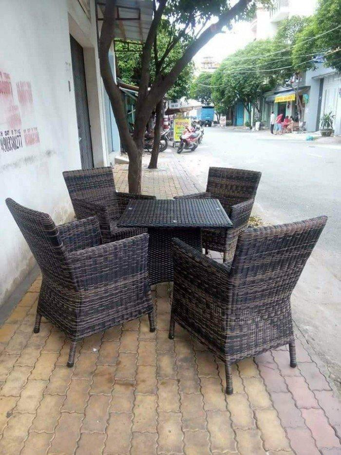 bàn ghế cafe cao cấp1
