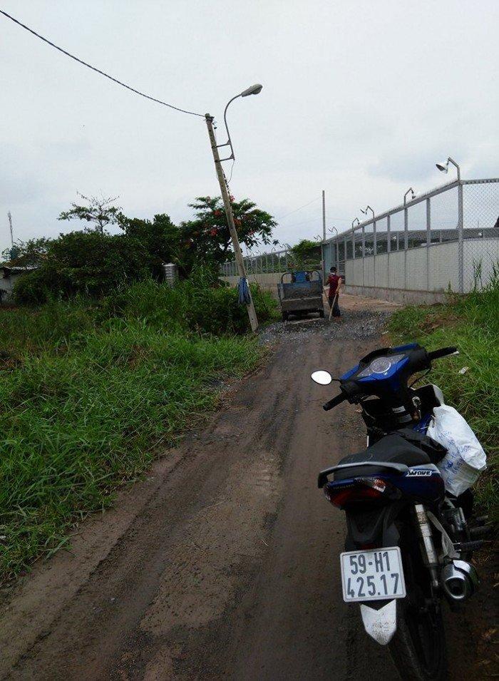 Bán đất mặt tiền đường Đa Phước Bình Chánh