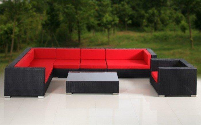 Bàn ghế sofa giả mây8