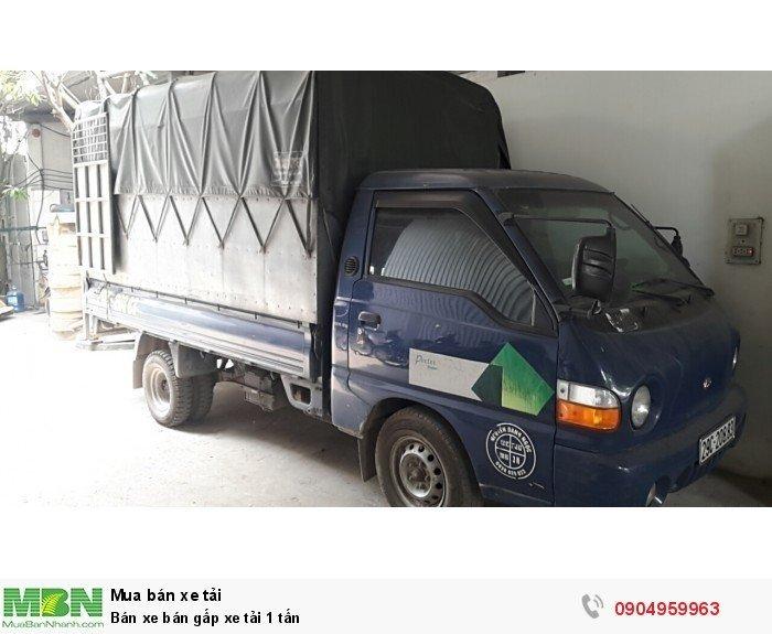 Hyundai Porter sản xuất năm 2003 Số tay (số sàn) Xe tải động cơ Dầu diesel