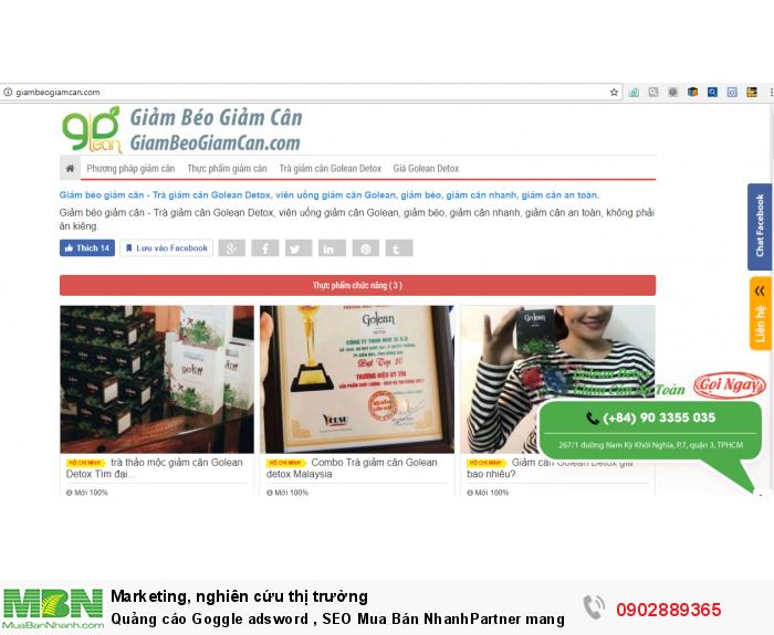[8] Quảng cáo Goggle adsword , SEO Mua Bán NhanhPartner mang lại hiệu quả cao  và tiết kiệm chi phí tối đa