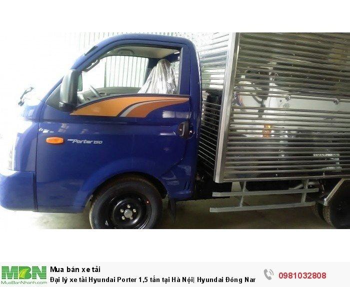 Đại lý xe tải Hyundai Porter 1,5 tấn tại Hà Nội| Hyundai Đông Nam