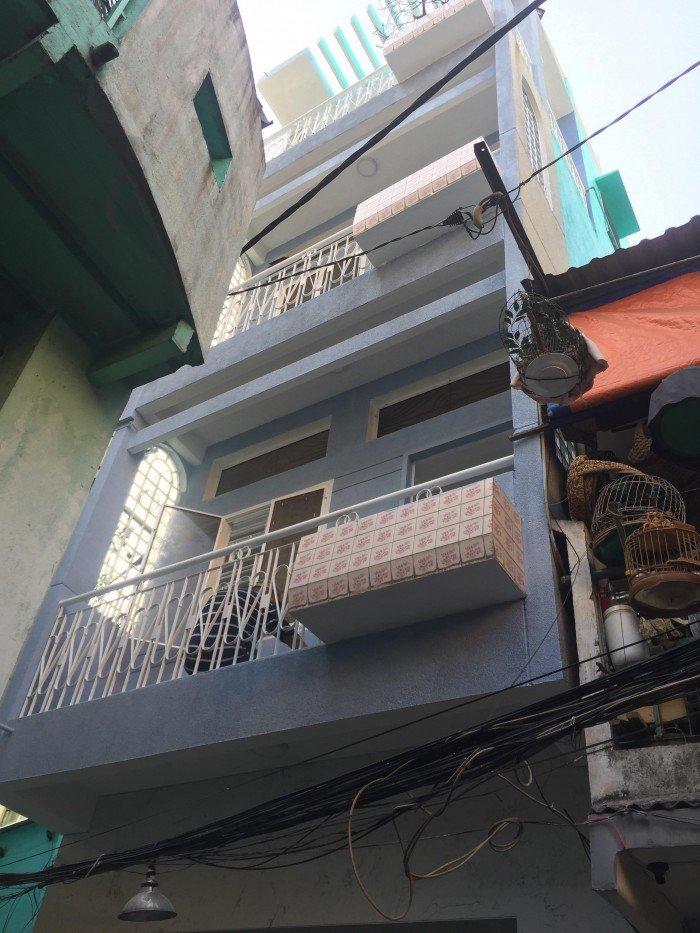Bán Nhà hẻm Huỳnh Mẫn Đạt P4 Q5 trung tâm quận 5