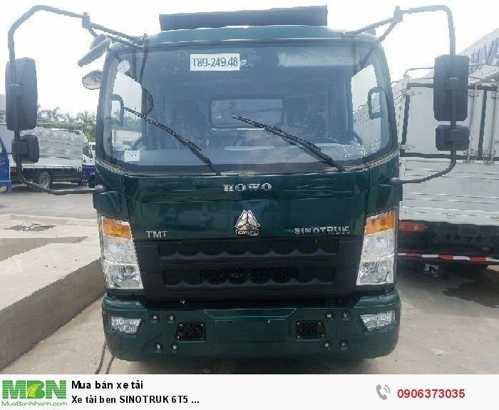 Xe tải ben SINOTRUK 6T5 ...