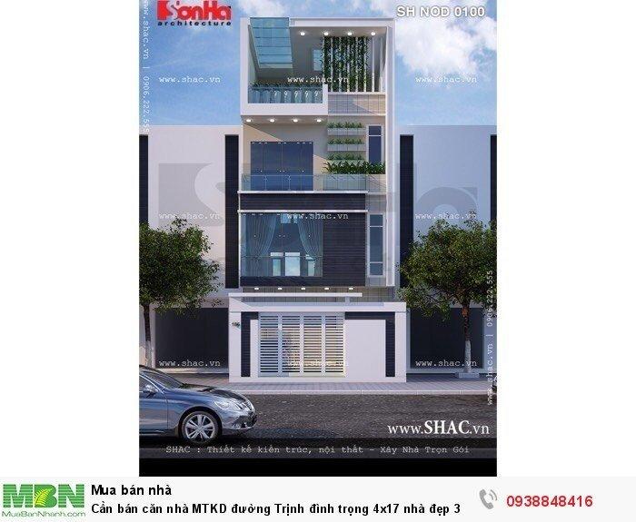 Cần bán căn nhà MTKD đường Trịnh đình trọng 4x17 nhà đẹp 3 lầu Nhà đẹp P.Hòa Thạnh Q.Tân Phú