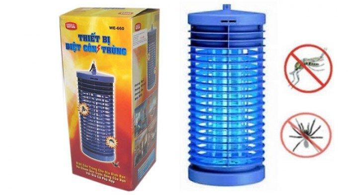 Đèn bắt muỗi,diệt côn trùng Well DS-D60