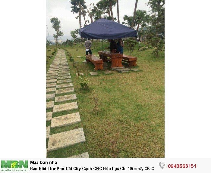 Bán Biệt Thự Phú Cát City Cạnh CNC Hòa Lạc Chỉ 10tr/m2, CK Cao 0943.563.151