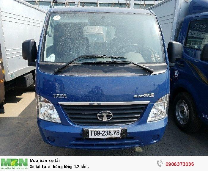 Xe tải TaTa thùng lửng 1.2 tấn .