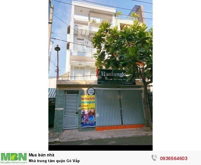 Nhà trung tâm quận Gò Vấp
