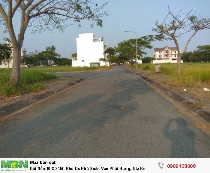 Đất Nền 10 X 21M- Khu Dc Phú Xuân Vạn Phát Hưng, Giá Rẻ