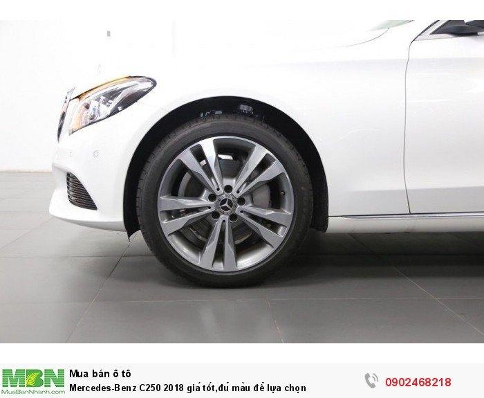Mercedes-Benz C250 2018 giá tốt,đủ màu để lựa chọn