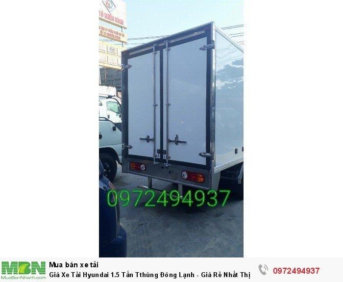 Hỗ trợ trả góp lên đến 90% giá trị xe tải Hyundai 1.5 tấn H150 Porter