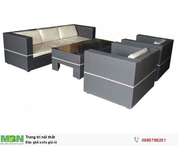 Bàn ghế sofa giá rẻ1