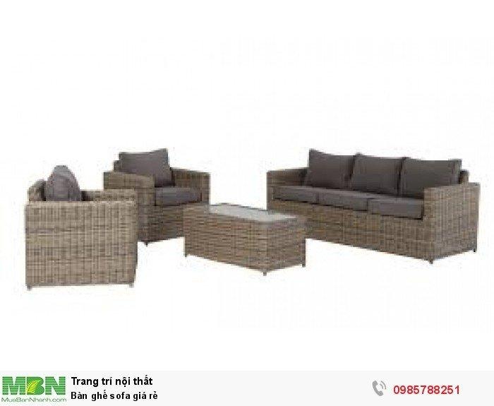 Bàn ghế sofa giá rẻ3