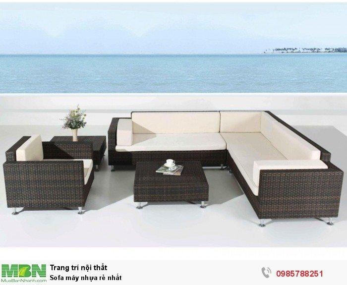 Sofa mây nhựa rẻ nhất2