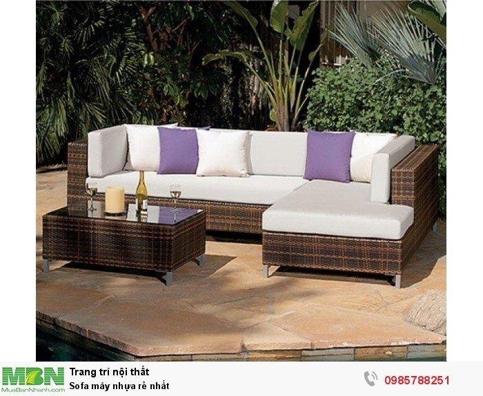Sofa mây nhựa rẻ nhất3
