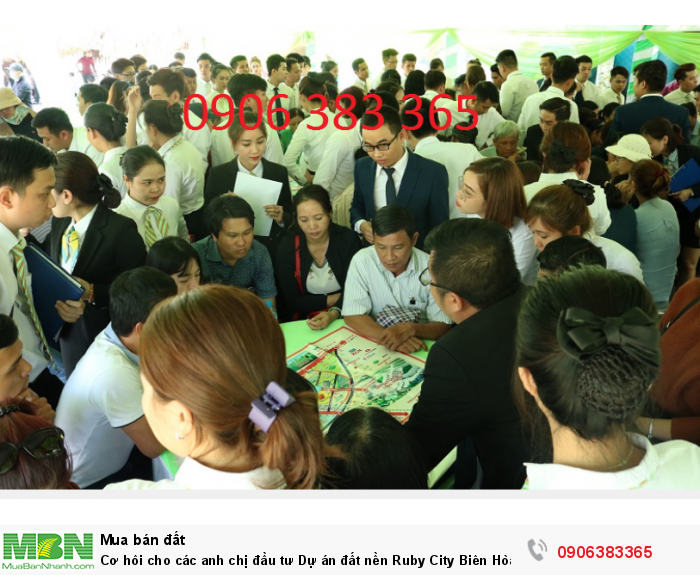Cơ hôi cho các anh chị đầu tư Dự án đất nền Ruby City Biên Hòa, lô 45, giá hữu nghị!