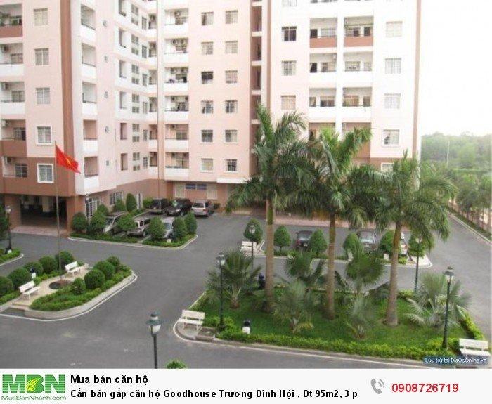Cần bán gấp căn hộ Goodhouse Trương Đình Hội , Dt 95m2, 3 phòng ngủ, nhà rộng thoáng mát