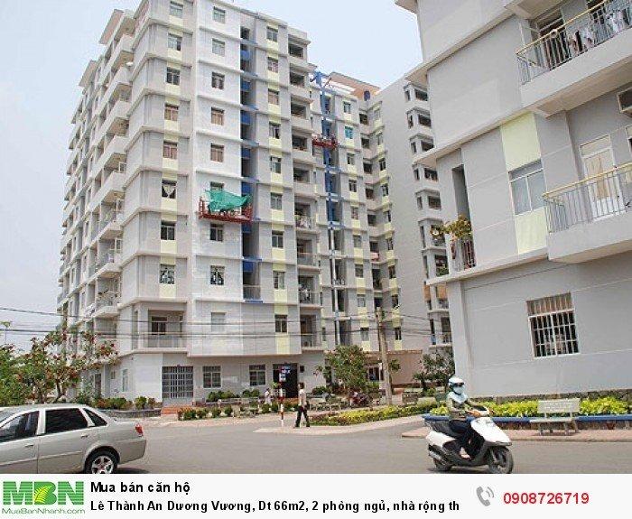 Lê Thành An Dương Vương, Dt 66m2, 2 phòng ngủ, nhà rộng thoáng mát, sổ hồng, có hỗ trợ vay ngân hàng