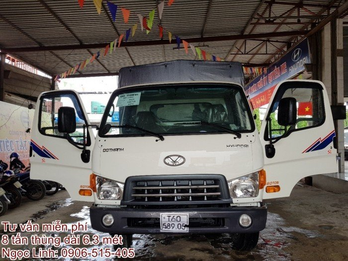 Xe tải Hyundai 120sl 8 tấn 0