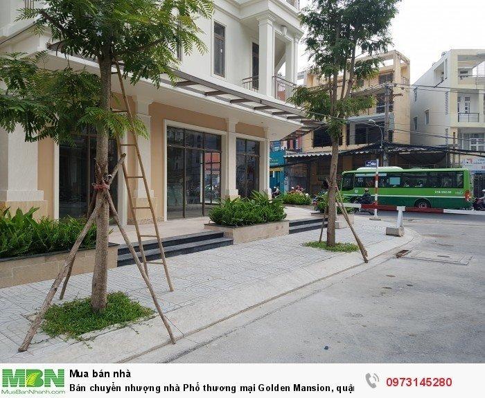 Bán chuyển nhượng nhà Phố thương mại Golden Mansion, quận Phú Nhuận