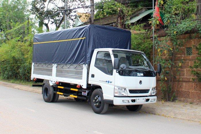 Xe tải SYM 1,9 tấn mui bạt - bỏ vốn ít, thu lợi nhiều