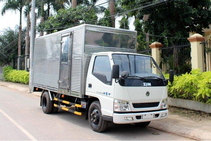 Xe tải SYM 1,7 tấn thùng kín - bỏ vốn ít, thu lợi nhiều 5